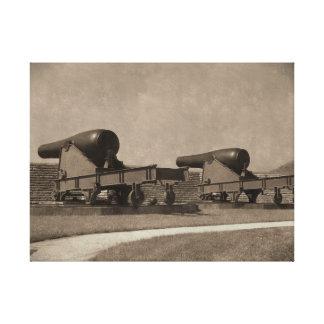 Guns of Moultrie Canvas Print