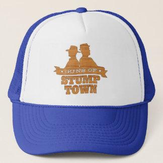Guns of Stumptown wood grain cap