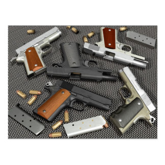 GUNS POST CARDS