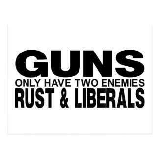 GUNS POSTCARD