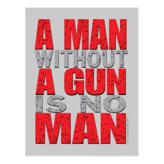 Guns... Postcard