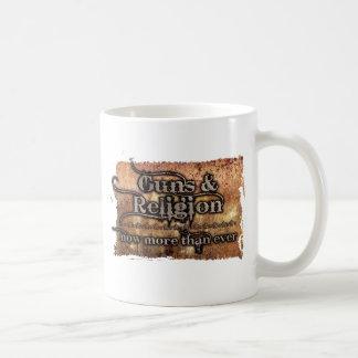 guns&religion coffee mug