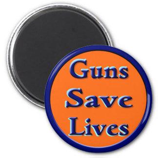 Guns Save Lives Magnet
