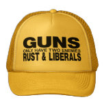 GUNS TRUCKER HAT