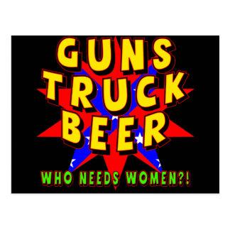 Guns Trucks Beer T-shirts Gifts Postcard