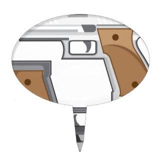 Guns Vector Cake Topper