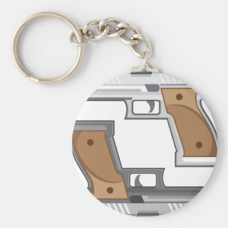 Guns Vector Keychain