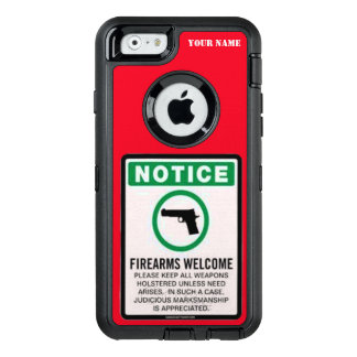 GUNS WELCOME OtterBox DEFENDER iPhone CASE