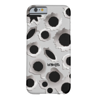 GunShots Holes Funny iPhone 6 case