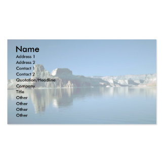 Gunsight Butte, Lake Powell, Arizona Double-Sided Standard Business Cards (Pack Of 100)