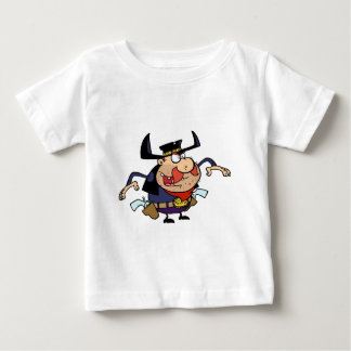 GunSlinger About to Draw his Guns Baby T-Shirt