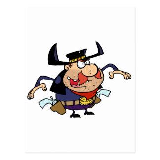 GunSlinger alrededor para dibujar sus armas Tarjetas Postales
