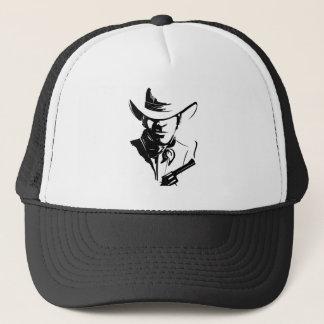 Gunslinger – Black Trucker Hat