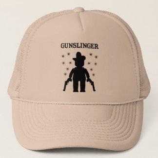 Gunslinger Cowboy Minifig Trucker Hat