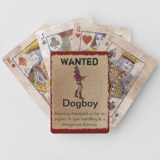 Gunslingers del oeste - naipes de Dogboy Barajas De Cartas