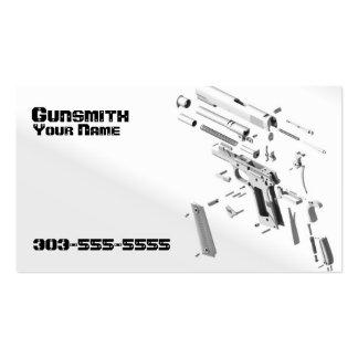 Gunsmith Business Card