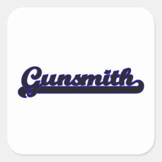 Gunsmith Classic Job Design Square Sticker