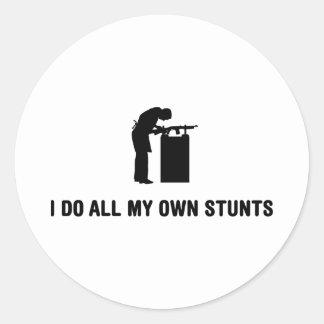 Gunsmith Classic Round Sticker