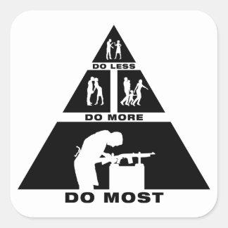 Gunsmith Square Sticker