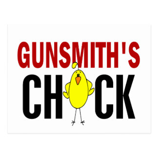 Gunsmith's Chick Postcard
