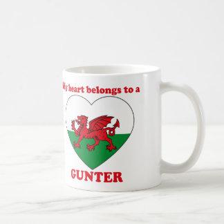 Gunter Coffee Mugs
