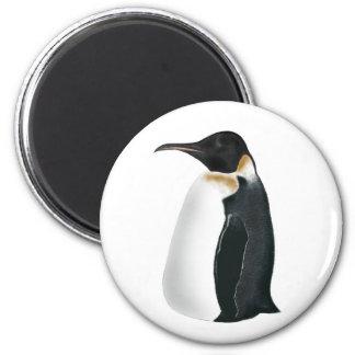 Gunter the Penguin 2 Inch Round Magnet