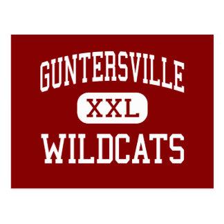 Guntersville - gatos monteses - alto - postal