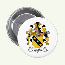 Gunther Family Crest Button