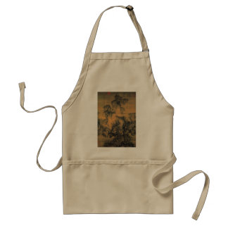 Guo Xi Early Spring Adult Apron