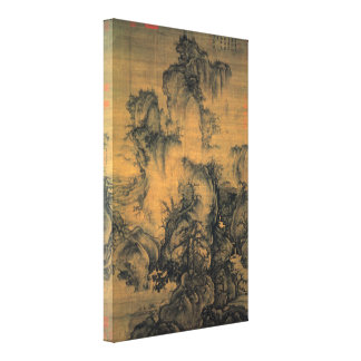 Guo Xi Early Spring Canvas Print