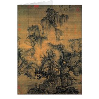 Guo Xi Early Spring Card