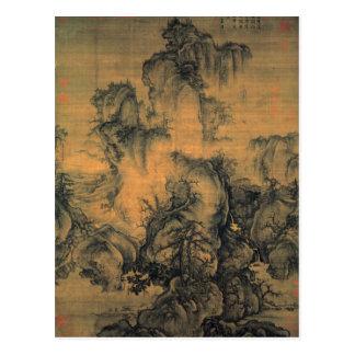 Guo Xi Early Spring Postcard