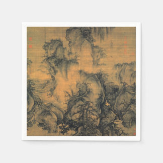 Guo Xi Early Spring Paper Napkin