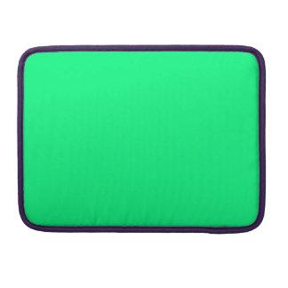 Guppie Green MacBook Pro Sleeves