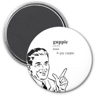 GUPPIE REFRIGERATOR MAGNET
