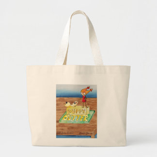 Guppy Butter Cover Large Tote Bag