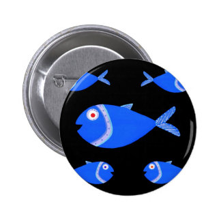 Guppy Fish Buttons