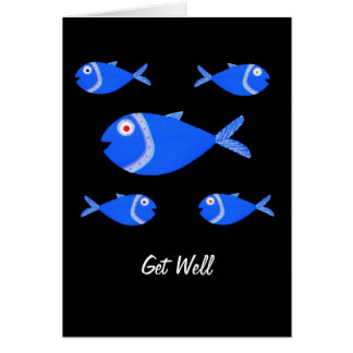 Guppy Fish Card