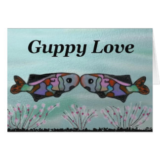 Guppy Love Card