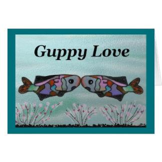 Guppy Love Valentine Card