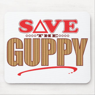 Guppy Save Mouse Pad