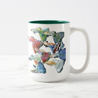 Guppy Two-Tone Coffee Mug
