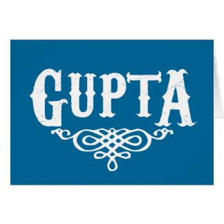 Gupta Greeting Card