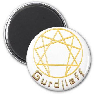 Gurdjieff 2 Inch Round Magnet