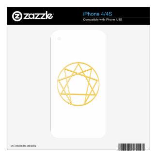 Gurdjieffs Anneagram iPhone 4S Skin