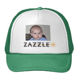 GURGLE BABY is ZAZZLED Trucker Hats