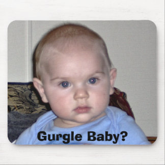 Gurgle Baby? Mouse Mat