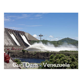 Guri Postal Dam Postcards