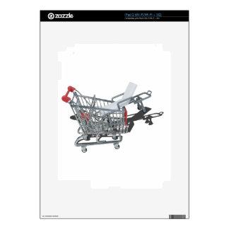 GurneyInShoppingCart092715.png iPad 2 Decal