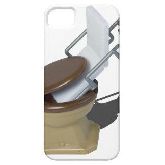 GurneyInToilet092715.png iPhone SE/5/5s Case